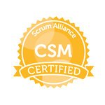 CSM certified by Scrum Alliance