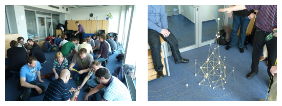 Tulming Agile teambuilding - have fun, play games.