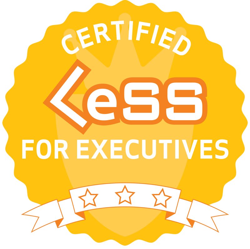Certified LeSS for Executives
